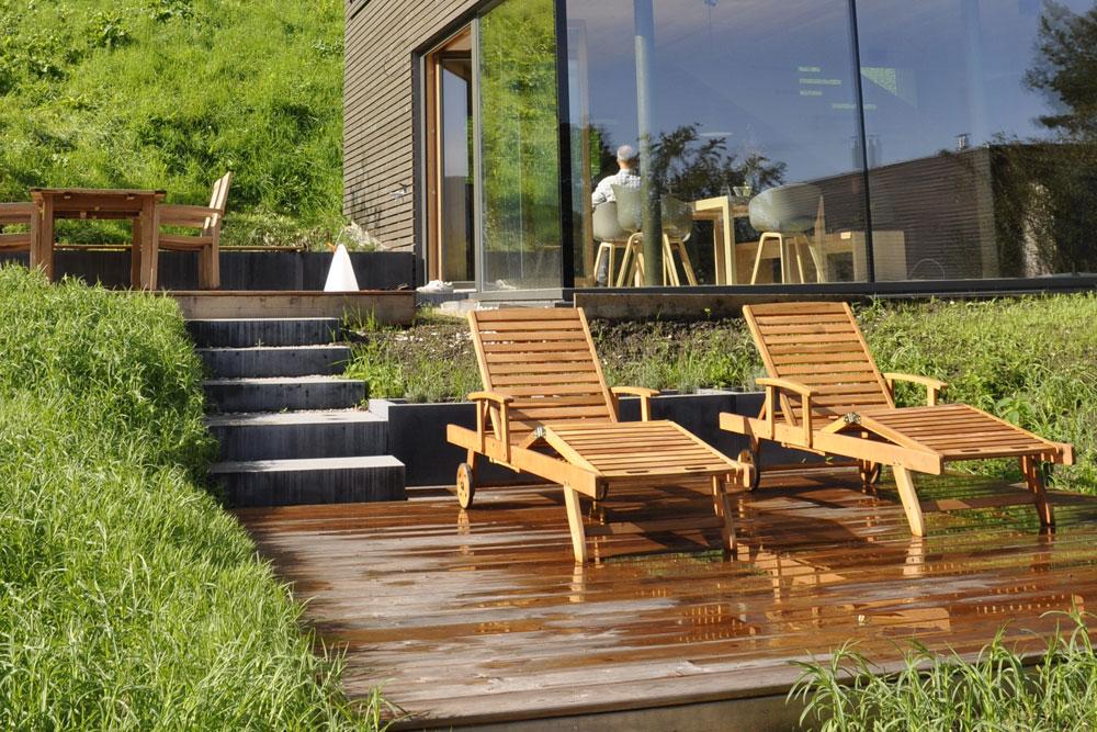aussenbereich holz stadler. Black Bedroom Furniture Sets. Home Design Ideas